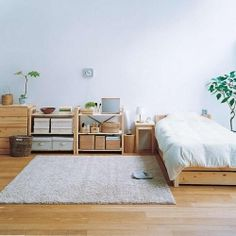 Example of Japanese minimalistic approach to decorating. via nigiyaka flickr
