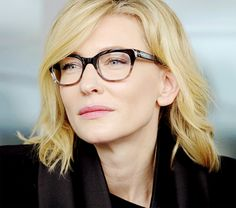 Stars wearing Glasses | Cate Blanchett with her cool glasses!