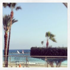 View from our Pool area at the Beach and Sports activity in Limassol - Cyprus