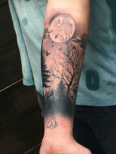 Tattoo trends - picture for forearm tattoo - # check more at . - Tattoo Trends – Image for Forearm Tattoo – # Check more at …. Cool Forearm Tattoos, Body Art Tattoos, Cool Tattoos, Tattoo Art, Sky Tattoos, Tattoo Wolf, Sketch Tattoo, Snake Tattoo, Life Tattoos