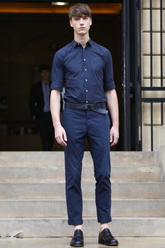 Officine Generale Menswear Spring Summer 2015 Paris - NOWFASHION