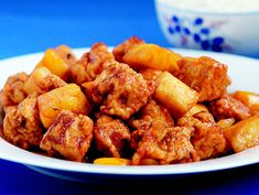 Sweet & Sour Pork   Diana Kuan   The Chinese Takeout Cookbook } epicurious         Sweet and Sour Pork Recipe  at Epicurious.com