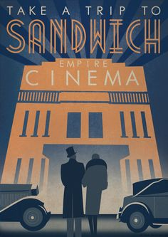 Image of Sandwich Empire Cinema print. Found what i was looking for!