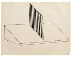 Image result for donald judd sketch