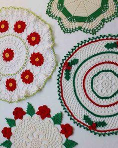 Vintage Christmas Doilies Crochet Pattern