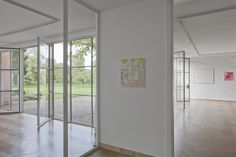 Partenheimer's work at the Mies van der Rohe Haus, Institute for Contemporary Art, Berlin
