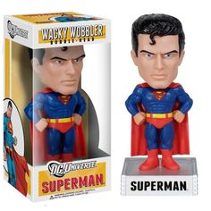 FUNKO Wacky Wobbler Universe Superman Bobble Head PVC Action Figure Collection Toy Doll for gifts