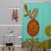 Found it at AllModern - Valentina Ramos Bird in The Flower Shower Curtain