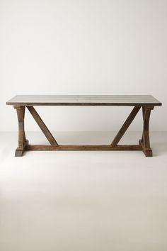 Modern Farmhouse Table - anthropologie.com