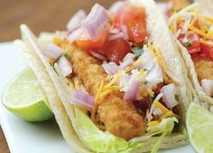 Use Groton Frozen Fish Sticks, super easy - Our fish sticks are a dinner staple, and here's the proof. Make any day Taco Tuesday with this simple, delicious recipe featured on Tasty. Check out the video!
