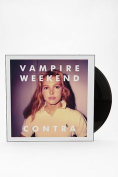 Vampire Weekend - Contra LP all. Vinyl Music, Music Tv, Vampire Weekend Contra, California English, Xl Recordings, Classic Album Covers, White Sky, The Clash, Alternative Music