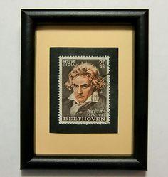 Ludwig Van Beethoven on stamp #3....stamp