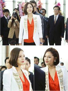 Elegant short Korean women hairstyle -->For more lookbook, visit-->http://alturl.com/qrbdq