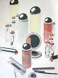 LOVE AND YARDLEY 1960's COSMETICS I used Love's Eau de Love parfume
