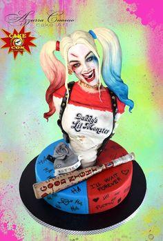 Harley Quinn Gets A Super Crazy Cake