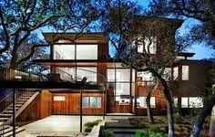 Ein ungewöhnliches Holzhaus in Austin, Texas | KlonBlog
