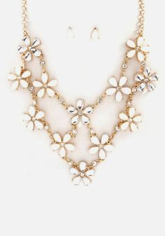 Sybella Necklace in Ivory