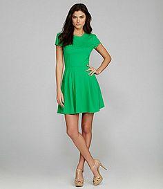 Gianni Bini Miller Short Sleeve Dress from Dillards Super Cute Dresses, Dresses For Work, Cocktail Length Dress, Daytime Dresses, Women Lifestyle, Gianni Bini, Dress Me Up, Green Dress, Designer Dresses