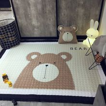 "US $61.44 Svetanya Cartoon Bear Print Kids Floor Carpet Rectangle Bedroon Rug baby Crawling Mats 57x76x0.6"". Aliexpress product"