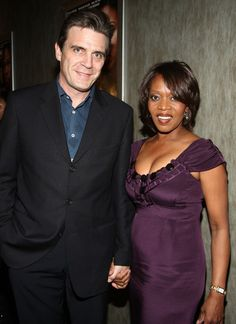 Alfre Woodard and her husband of 3 decades Roderick Spencer