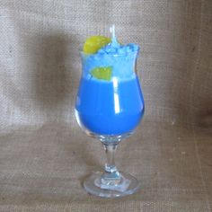 Blue Hawaiian Drink Candle by PenniesCountryScents on Etsy, $10.00