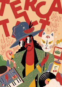 Sensitive Colorful Illustrations by Willian Santiago – Fubiz Media