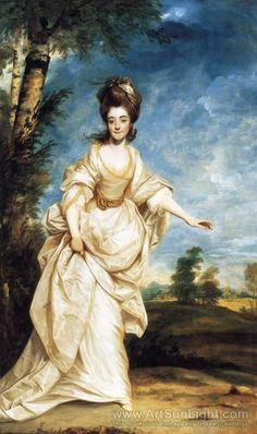 Diana Sackville by Reynolds, 1777