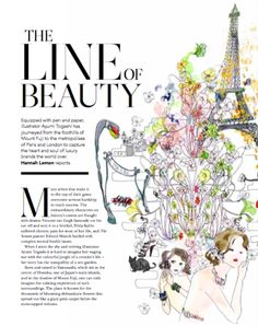 Article about Ayumi Togashi in the Mayfair Magazine February issue. Enjoy the weekend!