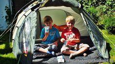 Augenblick mal ....: Grillen und Campen in Opas Garten