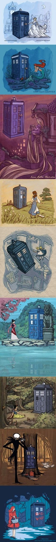 The Doctor is always looking for a new companion!
