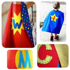 I really wanna make my son a cape for Christmas.