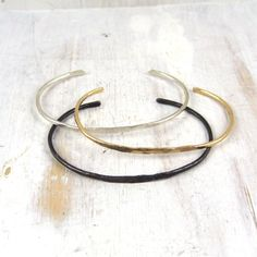 hand forged bracelets by fail jewelry
