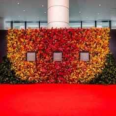 いいね!1,346件、コメント6件 ― Nicolai Bergmannさん(@nicolaibergmann)のInstagramアカウント: 「Flower wall installation at national exhibition hall Yokohama celebrating Arsoa 45th anniversary.…」