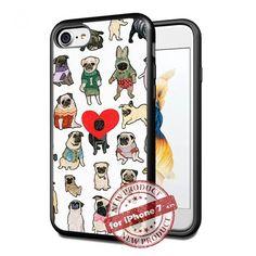 Cute Pug Love Dog Apple iPhone 7 Case Cover Slim Rubber T... https://www.amazon.com/dp/B01NCNF5A0/ref=cm_sw_r_pi_dp_x_vIYyybT7ZW8R7