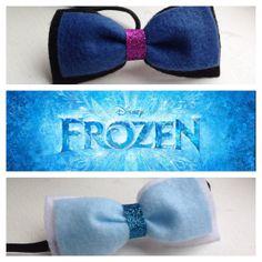 Anna and Elsa Disney's Frozen Hair Bows Barrett