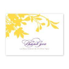 an enchanted garden - thank you cards