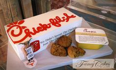 Chick-fil-A Cake