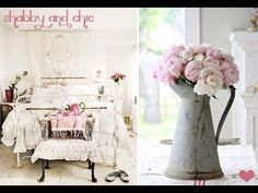 Love shabby chic? If you're looking for some DIY shabby chic decor to spruce up your home you'll love these ideas and inspirations. Get your craft on!     DIY Shabby Chic Decor   I just love all the shabby chic I've been seeing around Pinterest and all over. I thought it