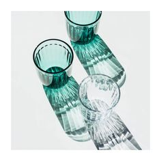 iittala Raami Sea Blue Tumblers (Set of Called Raami (Frame), this new collection designed by Jasper Morrison for iittala beautifully merges traditional tableware with modern, sleek shapes. The textured pressed glass gives this tumbler timel. Light Spring, Pressed Glass, Light And Shadow, Timeless Design, Candlesticks, Different Colors, Jasper, Tumbler, Pattern Design
