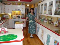 Me in my Vintage Retro Kitchen! | Flickr - Photo Sharing!