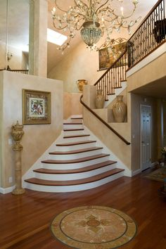 Cool Staircase - hmmm could I make this work???