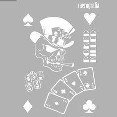 plantilla-stencil-skull-008-calavera-poker.png (400×400)