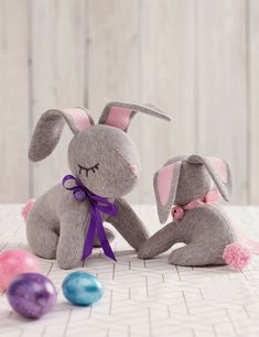 Sew a Stuffed Bunny for Easter!