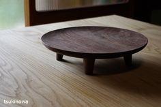 Woodwork by Japanese Maker Tomokazu Furui – OEN : Woodwork by Tomokazu Furui - Modern Wood Tray, Wood Bowls, Wood Furniture, Furniture Design, Wooden Plates, Wood Turning Projects, Wooden Kitchen, Wood Design, Wood Crafts