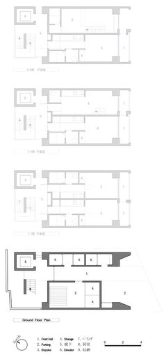 Apartment in Katayama by Mitsutomo Matsunami – WHAT WE DO IS SECRET