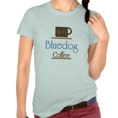Dachshund, Bluedog Coffee T Shirts