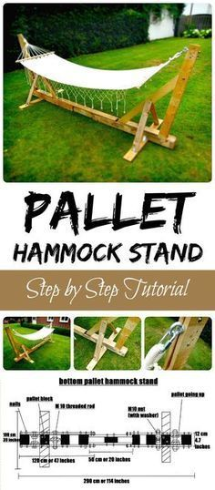 Pallet Hammock Stand - 150 Best DIY Pallet Projects and Pallet Furniture Crafts . Pallet Hammock Stand - 150 Best DIY Pallet Projects and Pallet Fur.