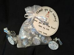 The best bridal shower favor kit - just add candy! Your guests are sure to love this delightful and custom made bridal shower favor. Wedding Shower Favors, Bachelorette Party Favors, Bridal Shower Party, Bridal Showers, Chelsea Wedding, Couple Shower, Wedding Pinterest, Here Comes The Bride, Wedding Parties