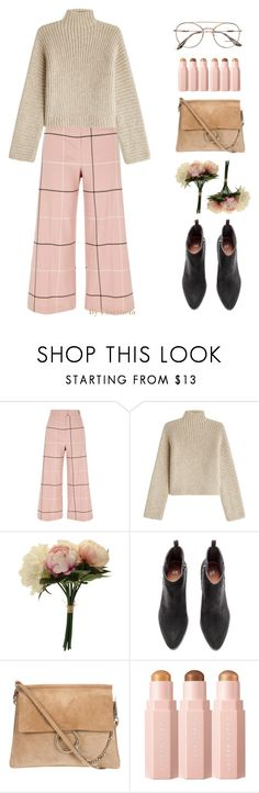 """the sky is a neighborhood"" by florenciafashionstreethunter ❤ liked on Polyvore featuring River Island, Rosetta Getty, Prada and topset"