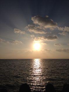 sunset...okinawa